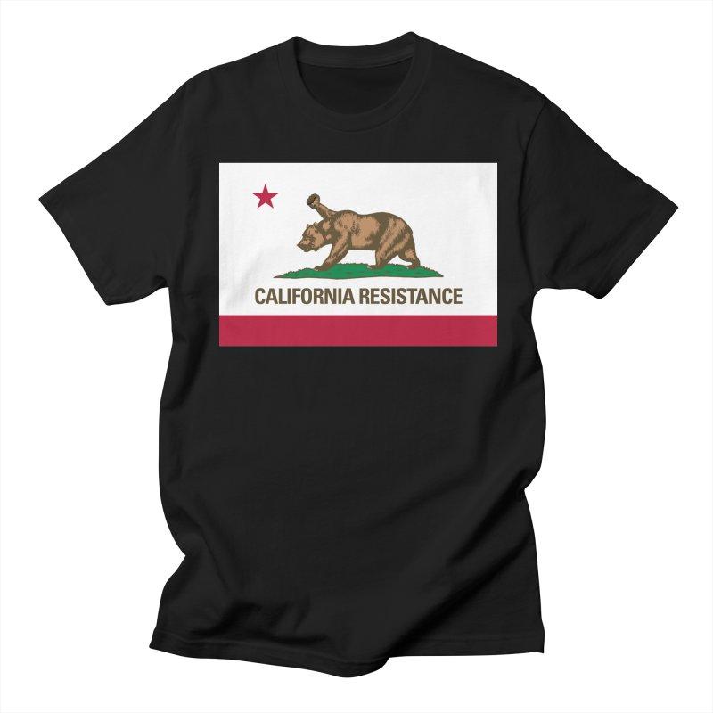 California Resistance Men's Regular T-Shirt by Resistance Merch