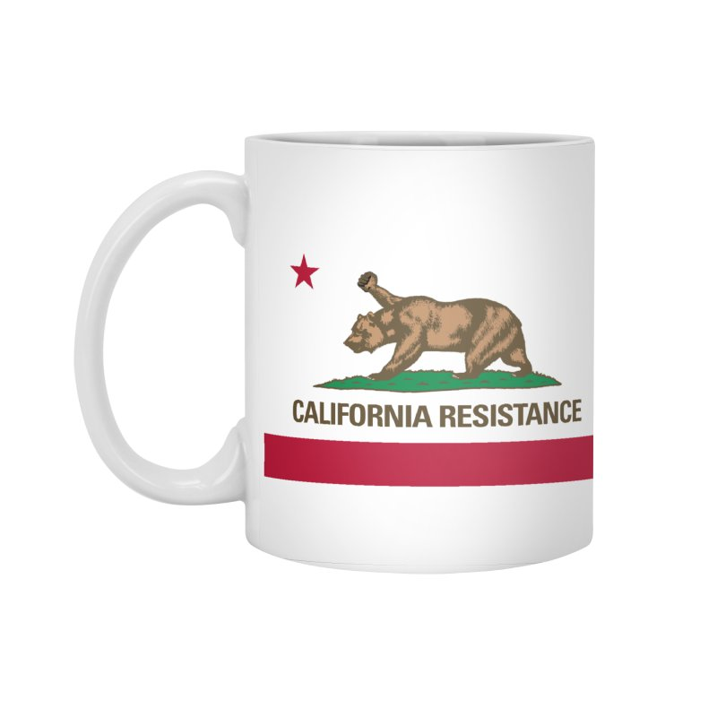 California Resistance Accessories Standard Mug by Resistance Merch