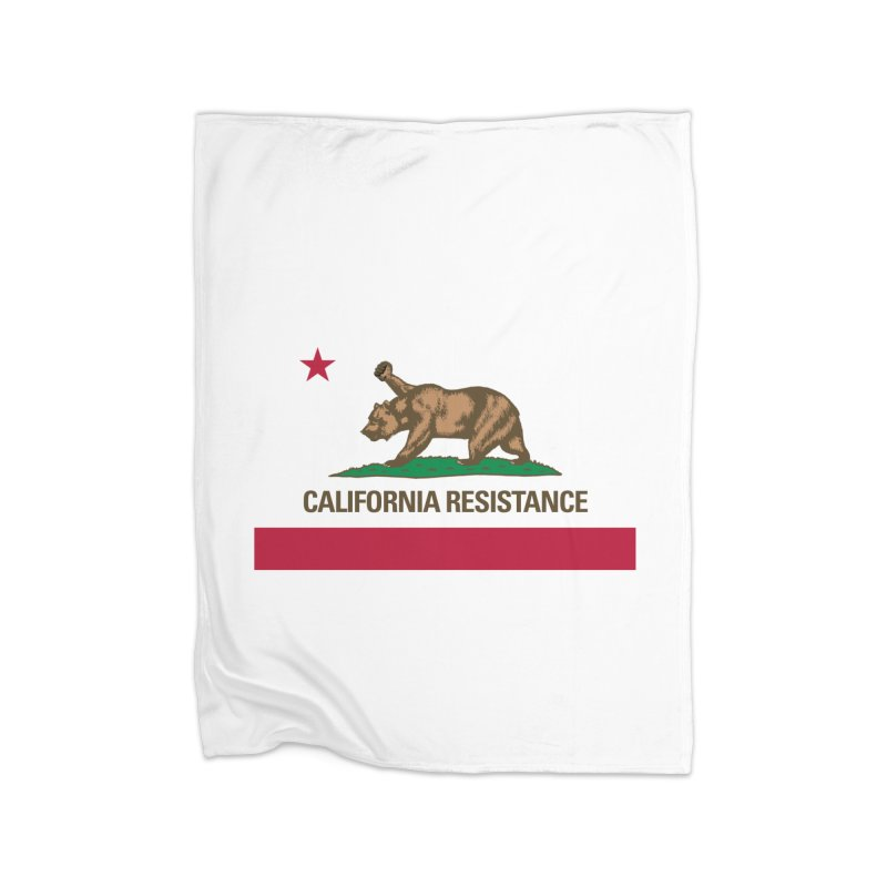 California Resistance Home Fleece Blanket Blanket by Resistance Merch