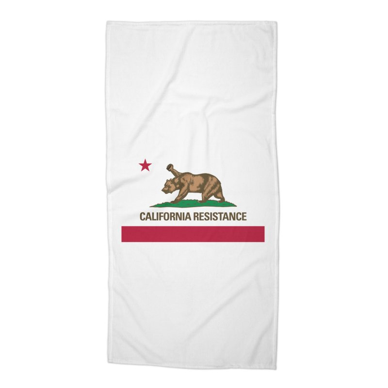 California Resistance Accessories Beach Towel by Resistance Merch