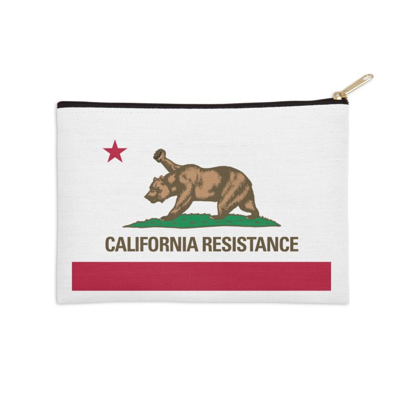 California Resistance Accessories Zip Pouch by Resistance Merch