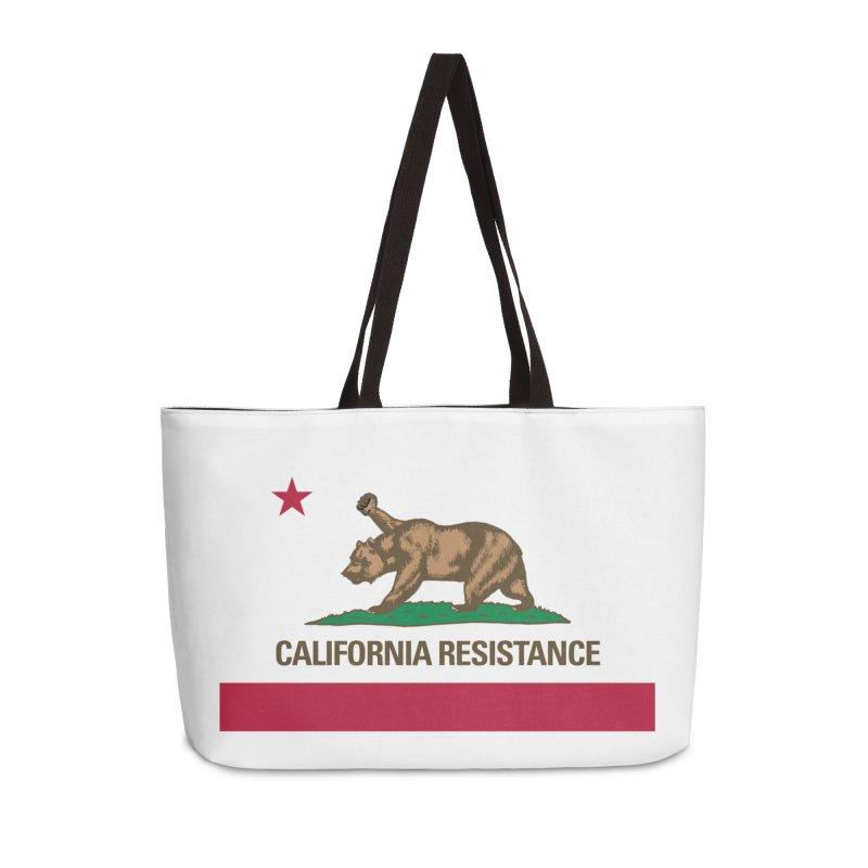 California Resistance Accessories Weekender Bag Bag by Resistance Merch