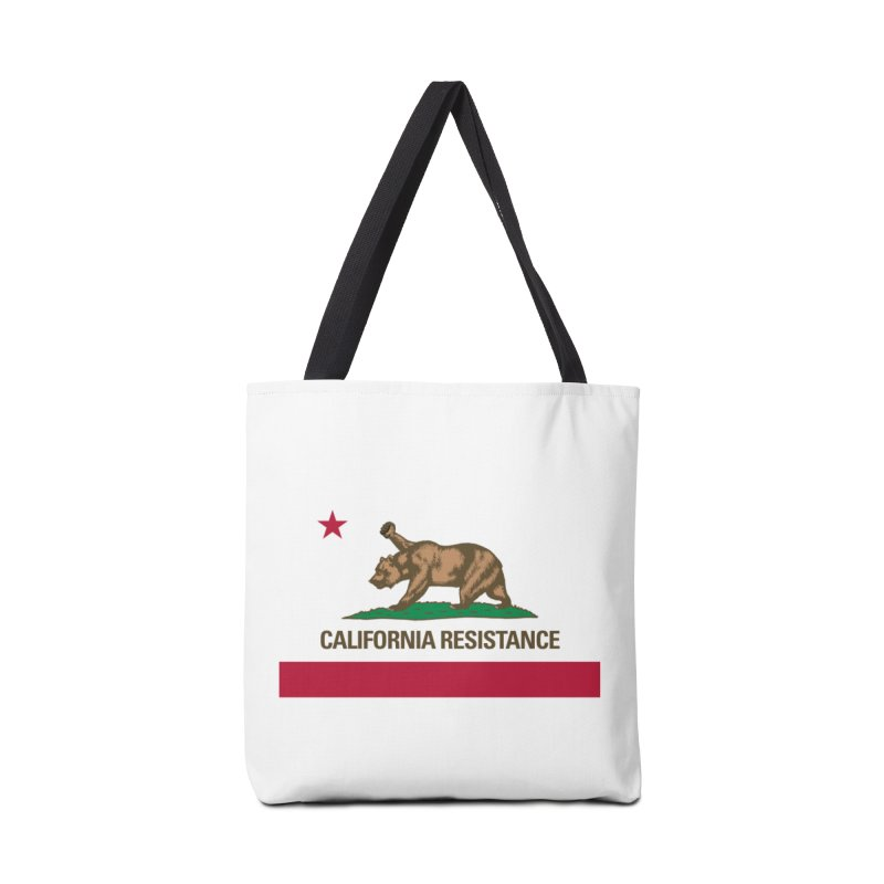 California Resistance Accessories Tote Bag Bag by Resistance Merch