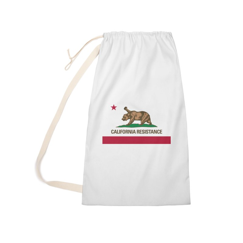 California Resistance Accessories Laundry Bag Bag by Resistance Merch