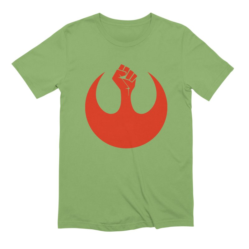 May the Fist Be With You Men's Extra Soft T-Shirt by Resistance Merch