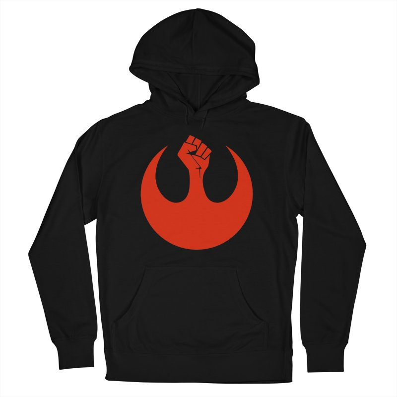 May the Fist Be With You Men's French Terry Pullover Hoody by Resistance Merch