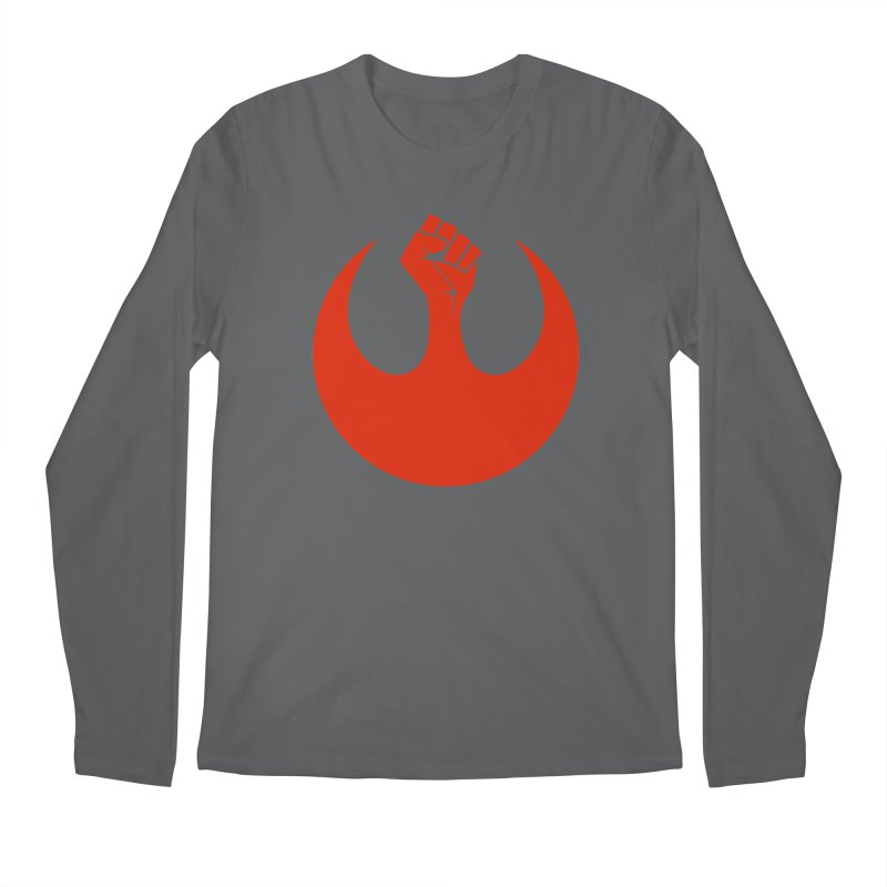 May the Fist Be With You Men's Regular Longsleeve T-Shirt by Resistance Merch