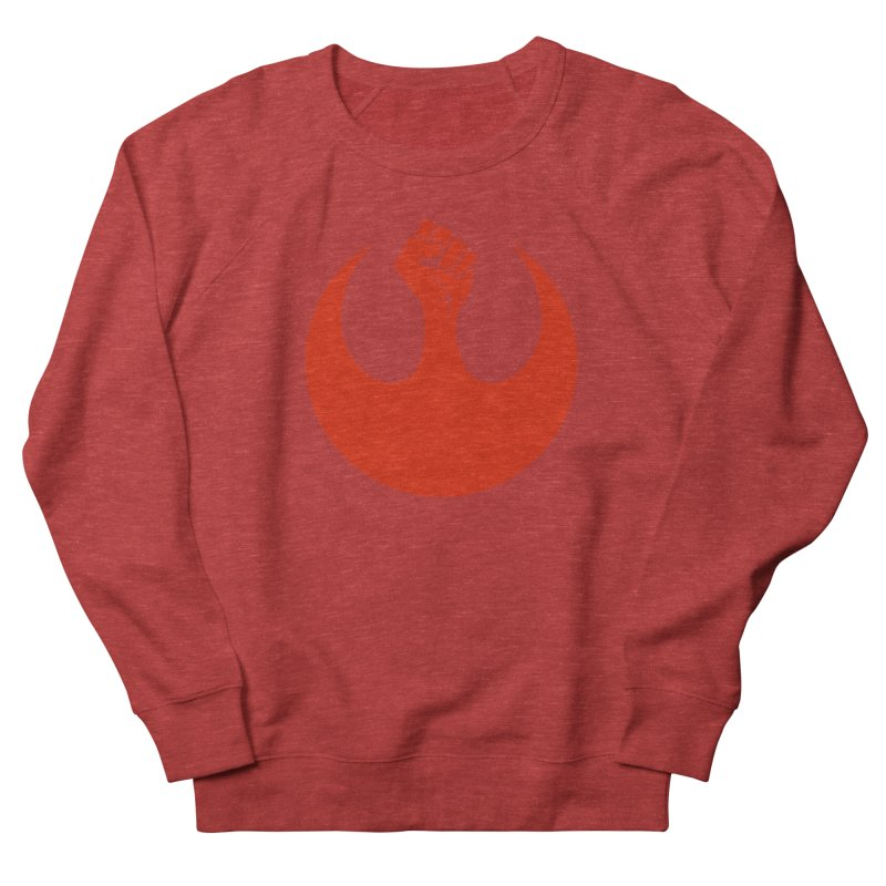May the Fist Be With You Men's French Terry Sweatshirt by Resistance Merch