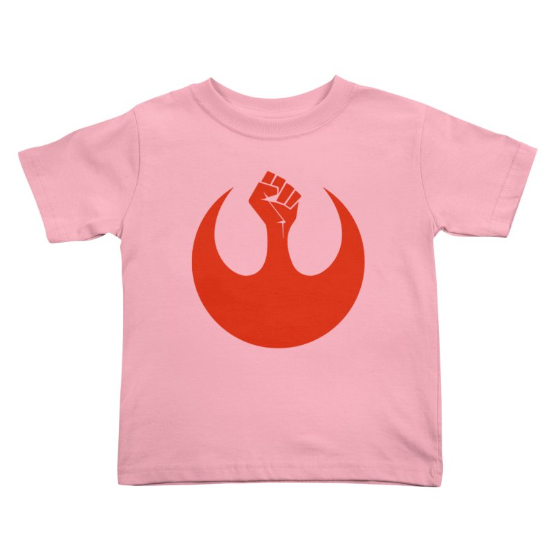 May the Fist Be With You Kids Toddler T-Shirt by Resistance Merch