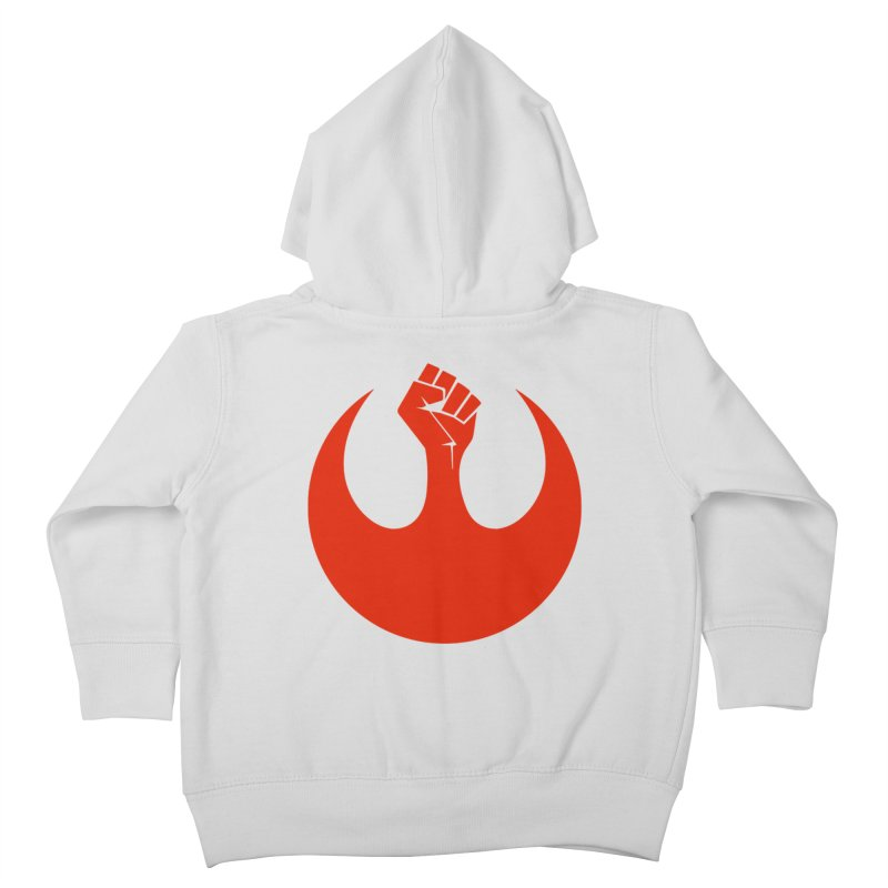 May the Fist Be With You Kids Toddler Zip-Up Hoody by Resistance Merch
