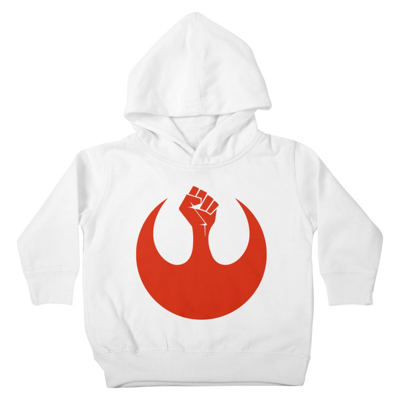 May the Fist Be With You Kids Toddler Pullover Hoody by Resistance Merch