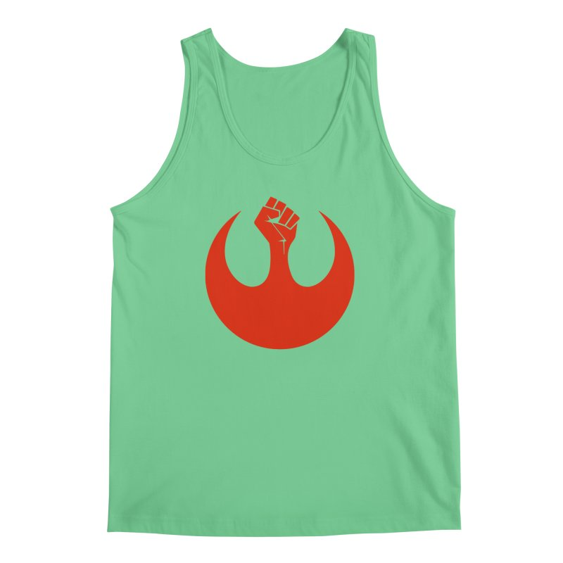 May the Fist Be With You Men's Regular Tank by Resistance Merch