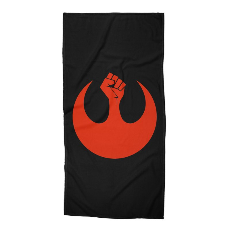 May the Fist Be With You Accessories Beach Towel by Resistance Merch