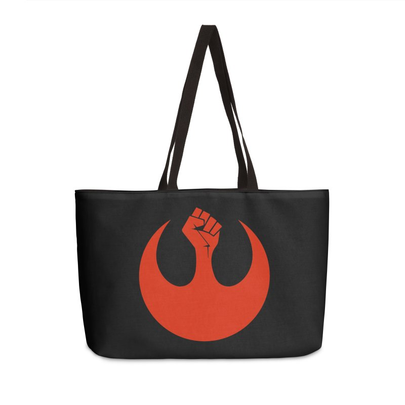 May the Fist Be With You Accessories Weekender Bag Bag by Resistance Merch