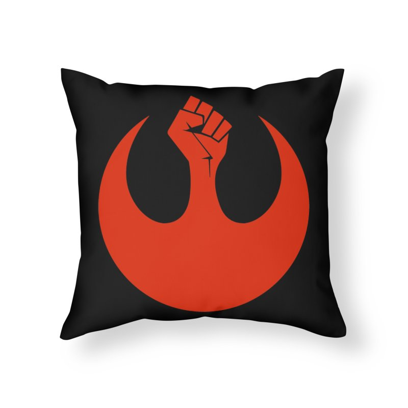 May the Fist Be With You Home Throw Pillow by Resistance Merch