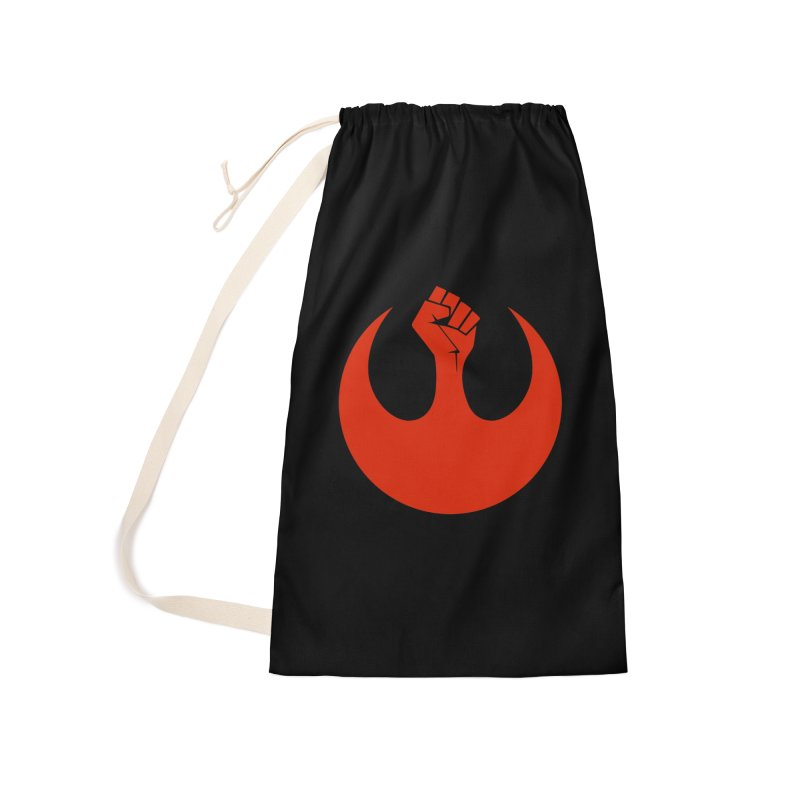May the Fist Be With You Accessories Laundry Bag Bag by Resistance Merch