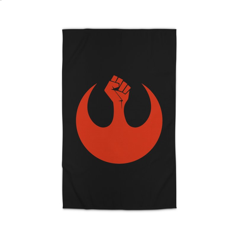 May the Fist Be With You Home Rug by Resistance Merch