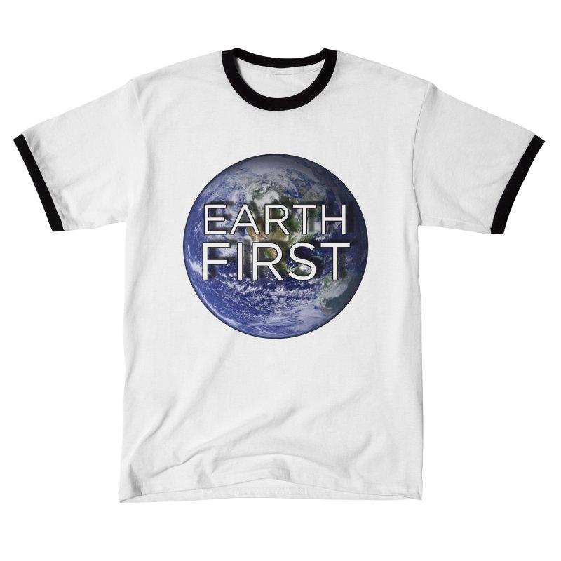 Earth First Men's T-Shirt by Resistance Merch
