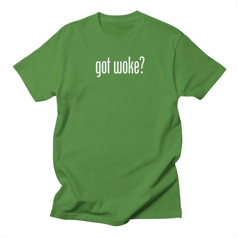 Got Woke? Men's Regular T-Shirt by Resistance Merch
