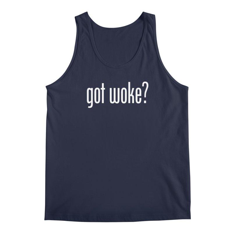 Got Woke? Men's Regular Tank by Resistance Merch
