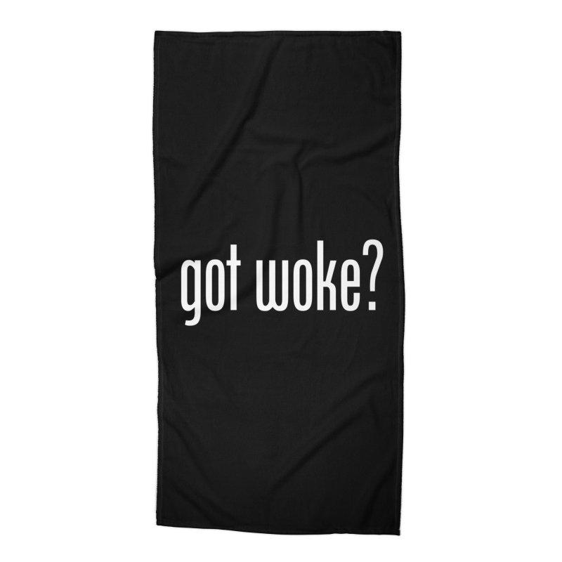 Got Woke? Accessories Beach Towel by Resistance Merch