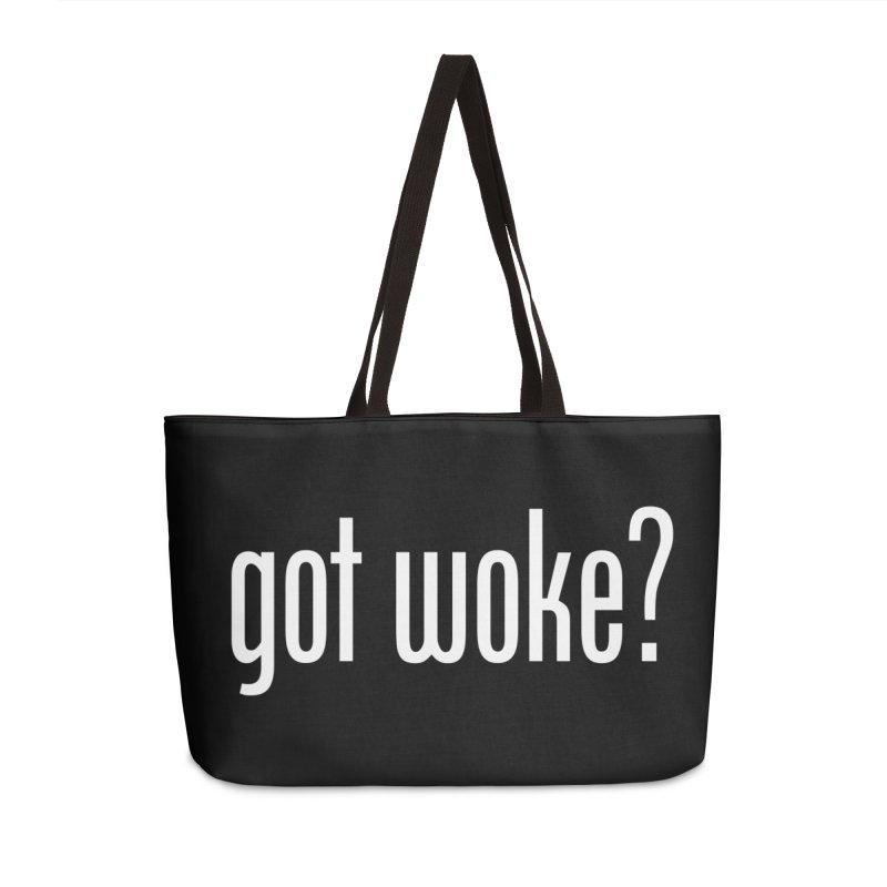 Got Woke? Accessories Weekender Bag Bag by Resistance Merch