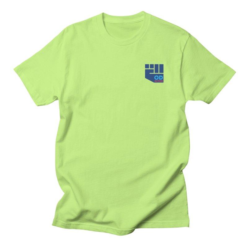 OD Action — Lapel Men's Regular T-Shirt by Resistance Merch