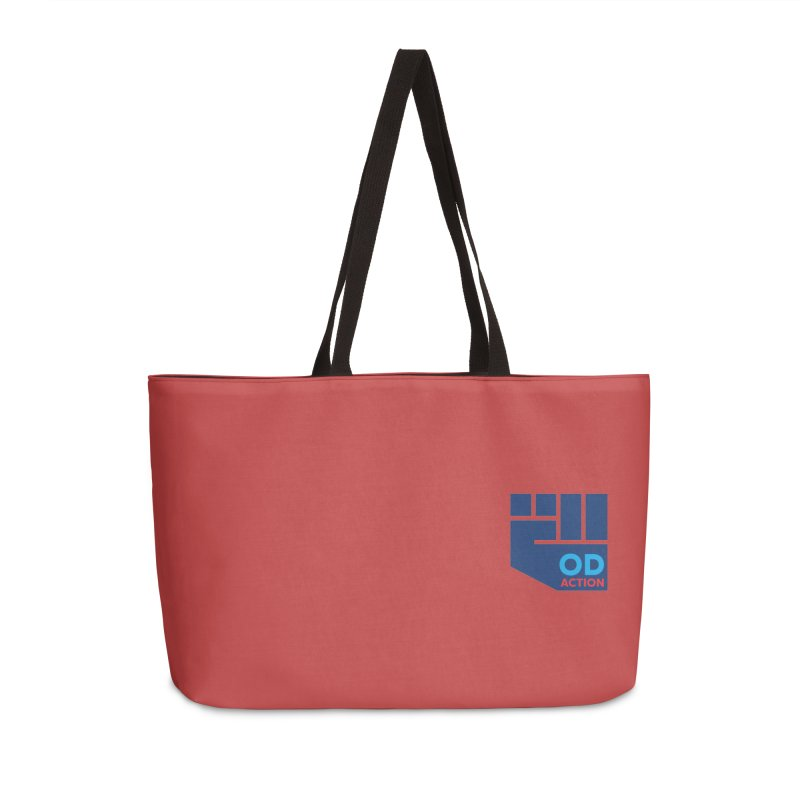 OD Action — Lapel Accessories Weekender Bag Bag by Resistance Merch