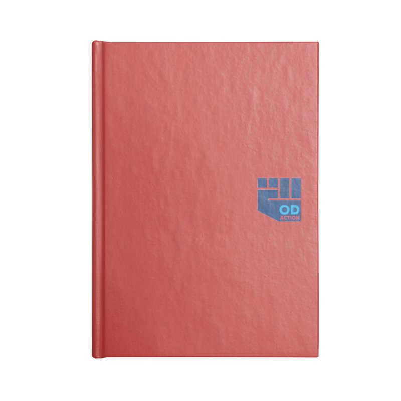 OD Action — Lapel Accessories Lined Journal Notebook by Resistance Merch
