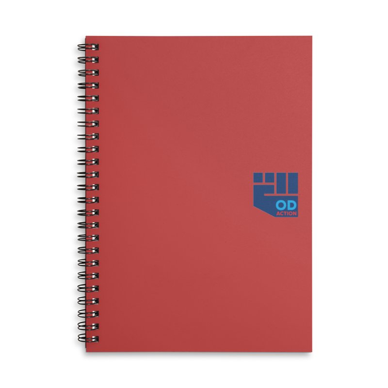 OD Action — Lapel Accessories Lined Spiral Notebook by Resistance Merch