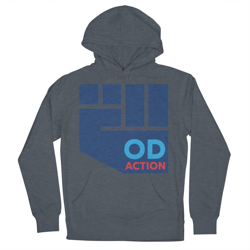 OD Action — Full Men's French Terry Pullover Hoody by Resistance Merch
