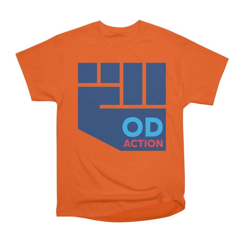 OD Action — Full Men's Heavyweight T-Shirt by Resistance Merch