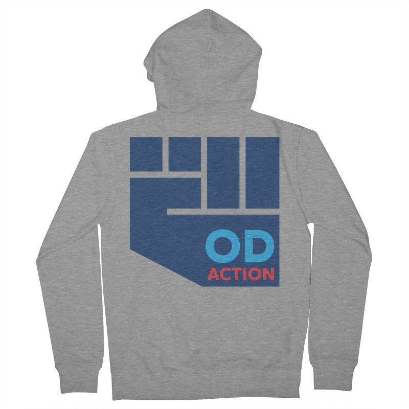 OD Action — Full Women's French Terry Zip-Up Hoody by Resistance Merch
