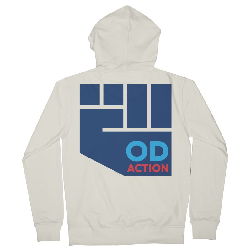 OD Action — Full Men's French Terry Zip-Up Hoody by Resistance Merch