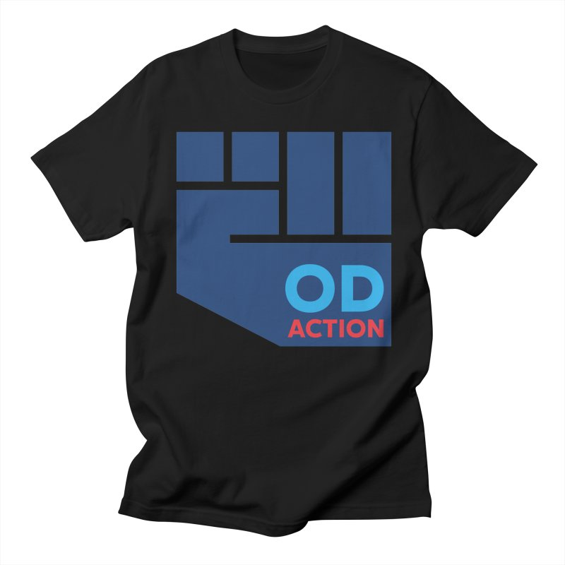 OD Action — Full Men's Regular T-Shirt by Resistance Merch