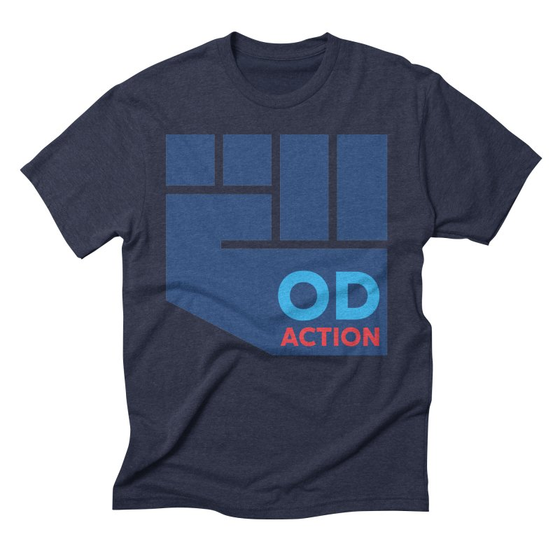 OD Action — Full Men's Triblend T-Shirt by Resistance Merch
