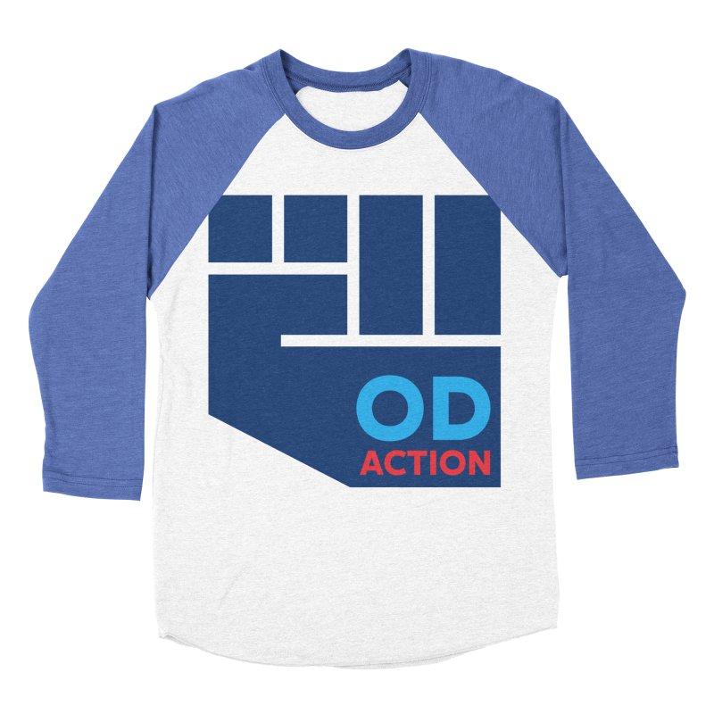 OD Action — Full Women's Baseball Triblend Longsleeve T-Shirt by Resistance Merch