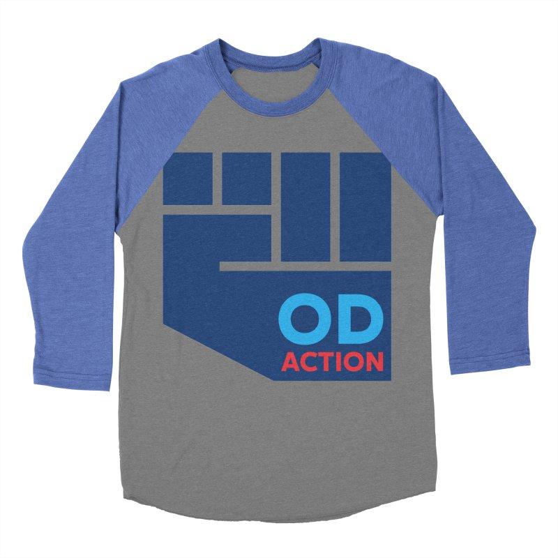 OD Action — Full Men's Baseball Triblend Longsleeve T-Shirt by Resistance Merch