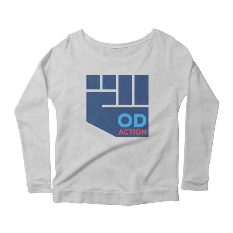 OD Action — Full Women's Scoop Neck Longsleeve T-Shirt by Resistance Merch