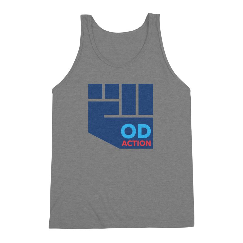 OD Action — Full Men's Triblend Tank by Resistance Merch