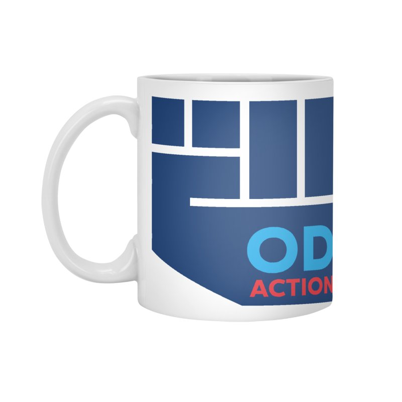 OD Action — Full Accessories Standard Mug by Resistance Merch