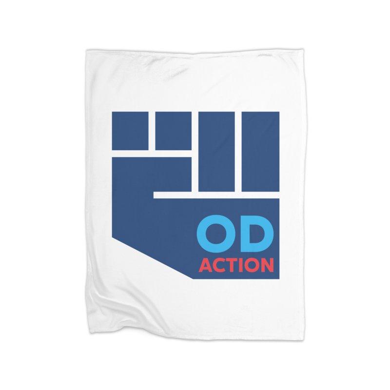 OD Action — Full Home Fleece Blanket Blanket by Resistance Merch