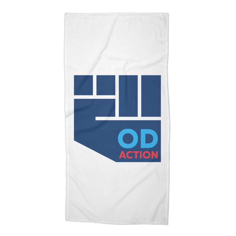 OD Action — Full Accessories Beach Towel by Resistance Merch
