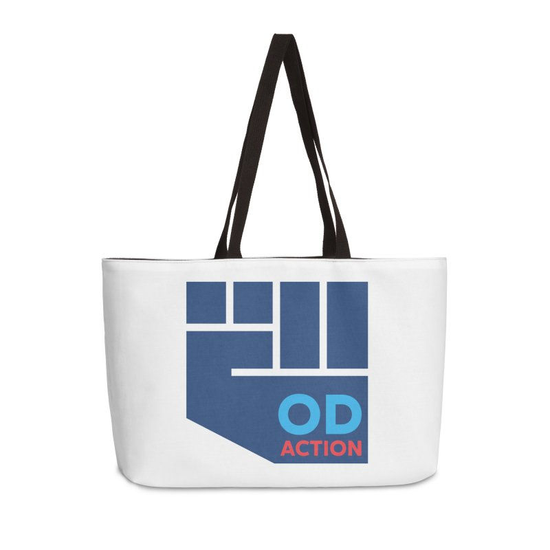 OD Action — Full Accessories Weekender Bag Bag by Resistance Merch