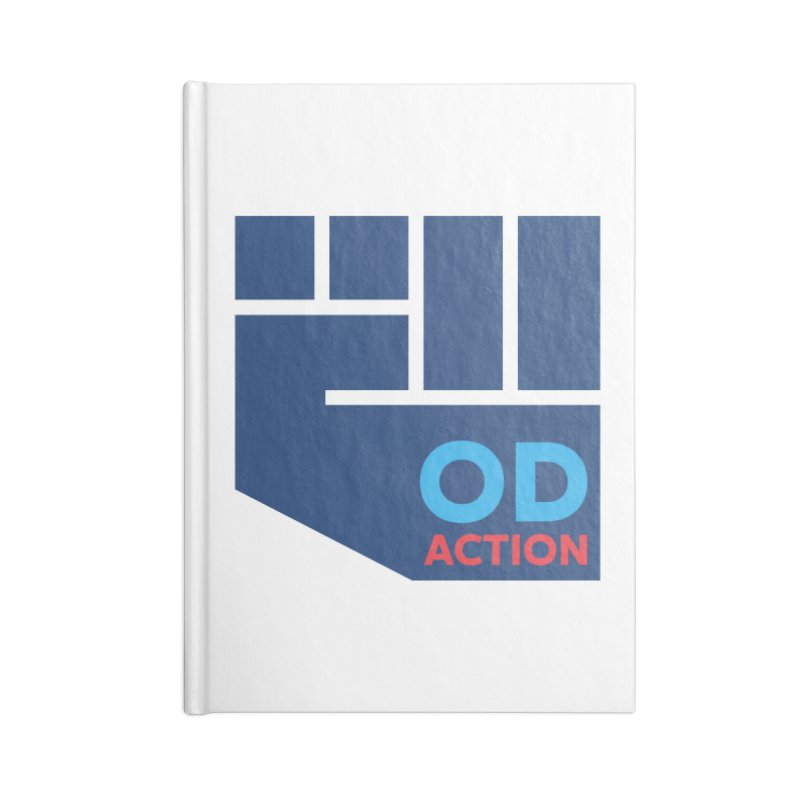 OD Action — Full Accessories Blank Journal Notebook by Resistance Merch
