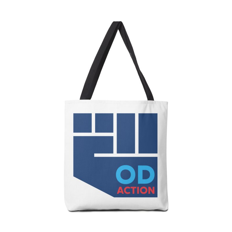 OD Action — Full Accessories Tote Bag Bag by Resistance Merch