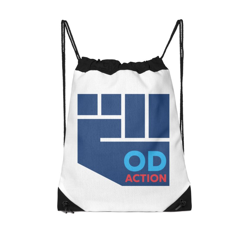 OD Action — Full Accessories Drawstring Bag Bag by Resistance Merch