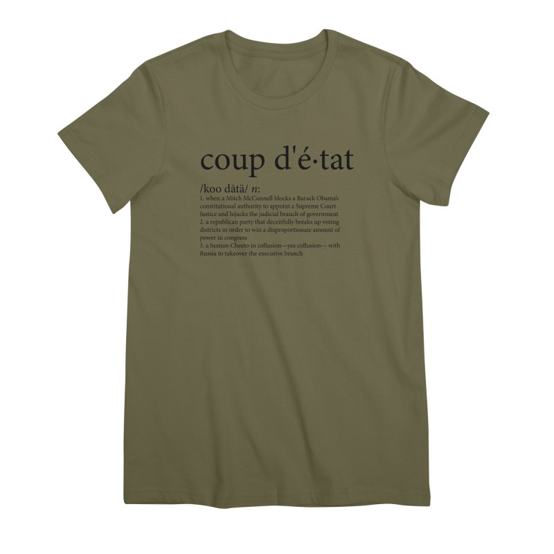 Couped Up Women's Premium T-Shirt by Resistance Merch