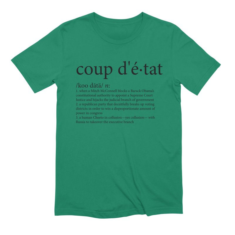 Couped Up Men's Extra Soft T-Shirt by Resistance Merch