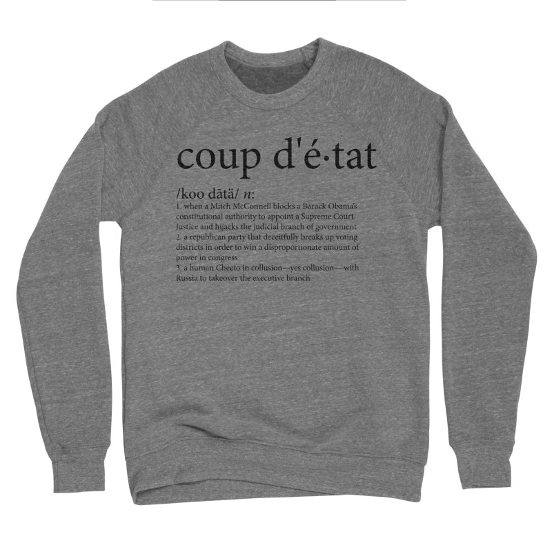 Couped Up Men's Sponge Fleece Sweatshirt by Resistance Merch
